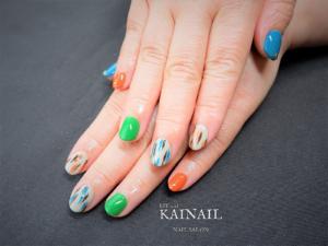 パラジェル登録ネイルサロン「KAINAIL カイネイル」デザイン-2019-04-23-1-1