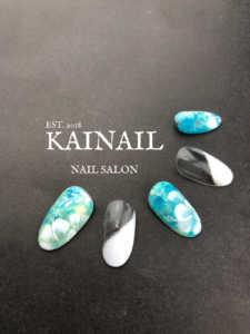 巣鴨、大塚のパラジェル登録ネイルサロン「KAINAIL カイネイル」デザインサンプル-55