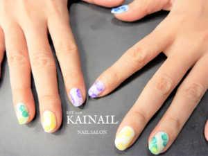 パラジェル登録ネイルサロン「KAINAIL カイネイル」デザイン-2018-08-27-1