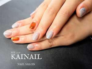 パラジェル登録ネイルサロン「KAINAIL カイネイル」デザイン-2018-10-13-1