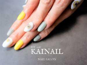 パラジェル登録ネイルサロン「KAINAIL カイネイル」デザイン-2018-10-25-2-1